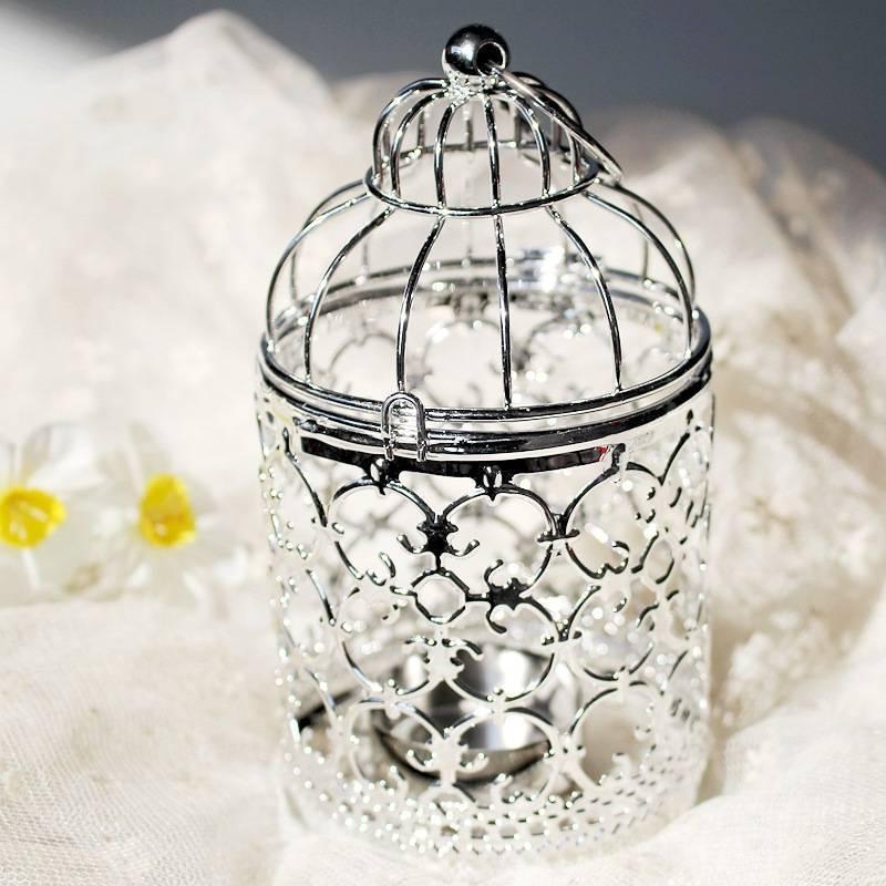 Hollow Cage Holder Lantern Home