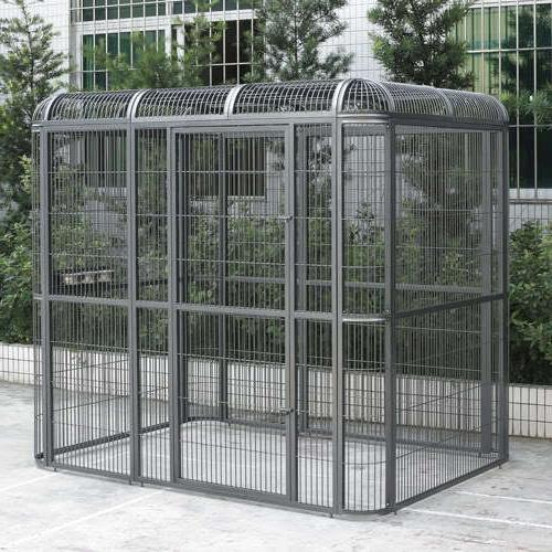 huge walk in bird aviary cage parrot