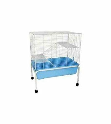 Small Indoor Animal Cage w Stand
