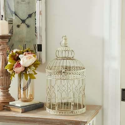 The Curated Metal Tall Bird Cages