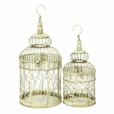 jiminez metal tall and small bird cages
