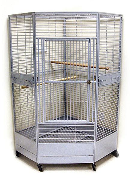 Kapoho Kave II Large Corner Bird Cage - 2 sizes available -
