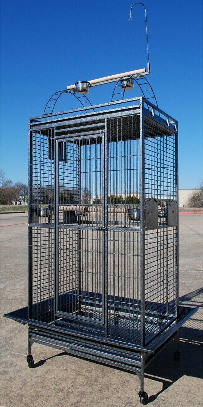 large 78 bird parrot play top cage
