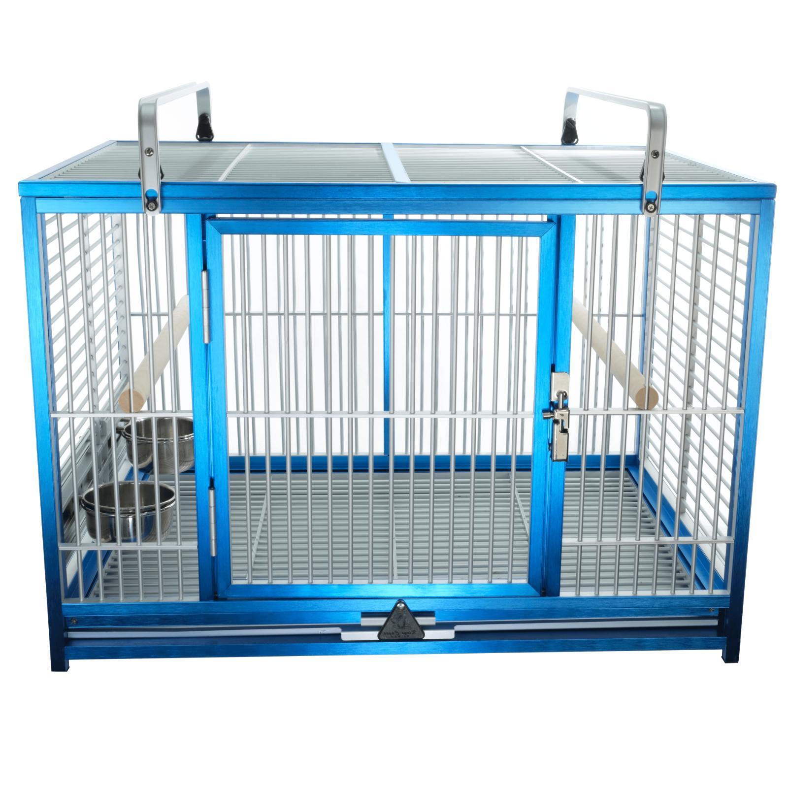 large aluminium parrot travel cage atm 2029