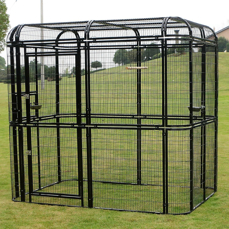 Cover Outdoor Walk Aviary Cage Heavy Duty