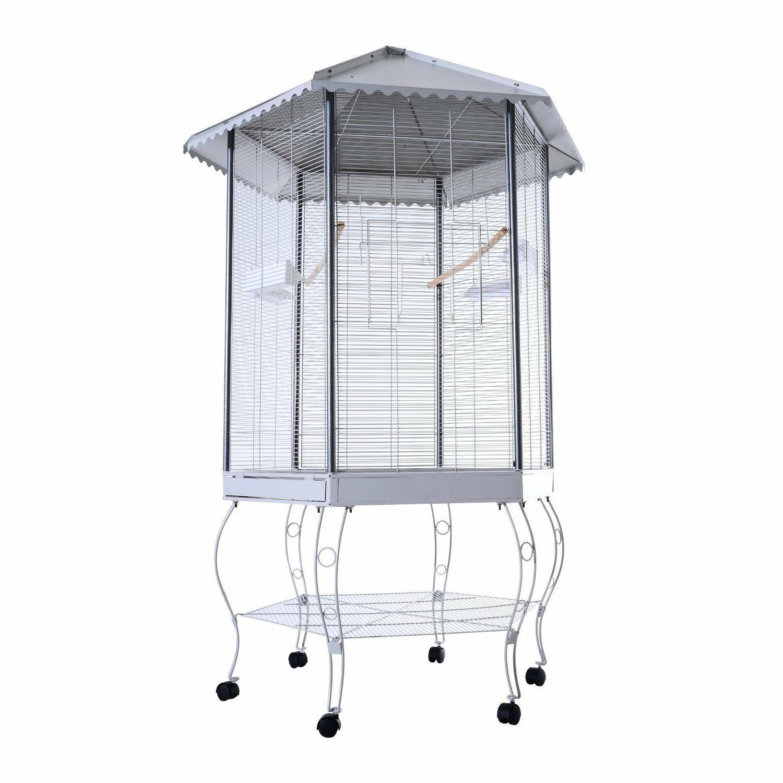 large bird flight outdoor stand