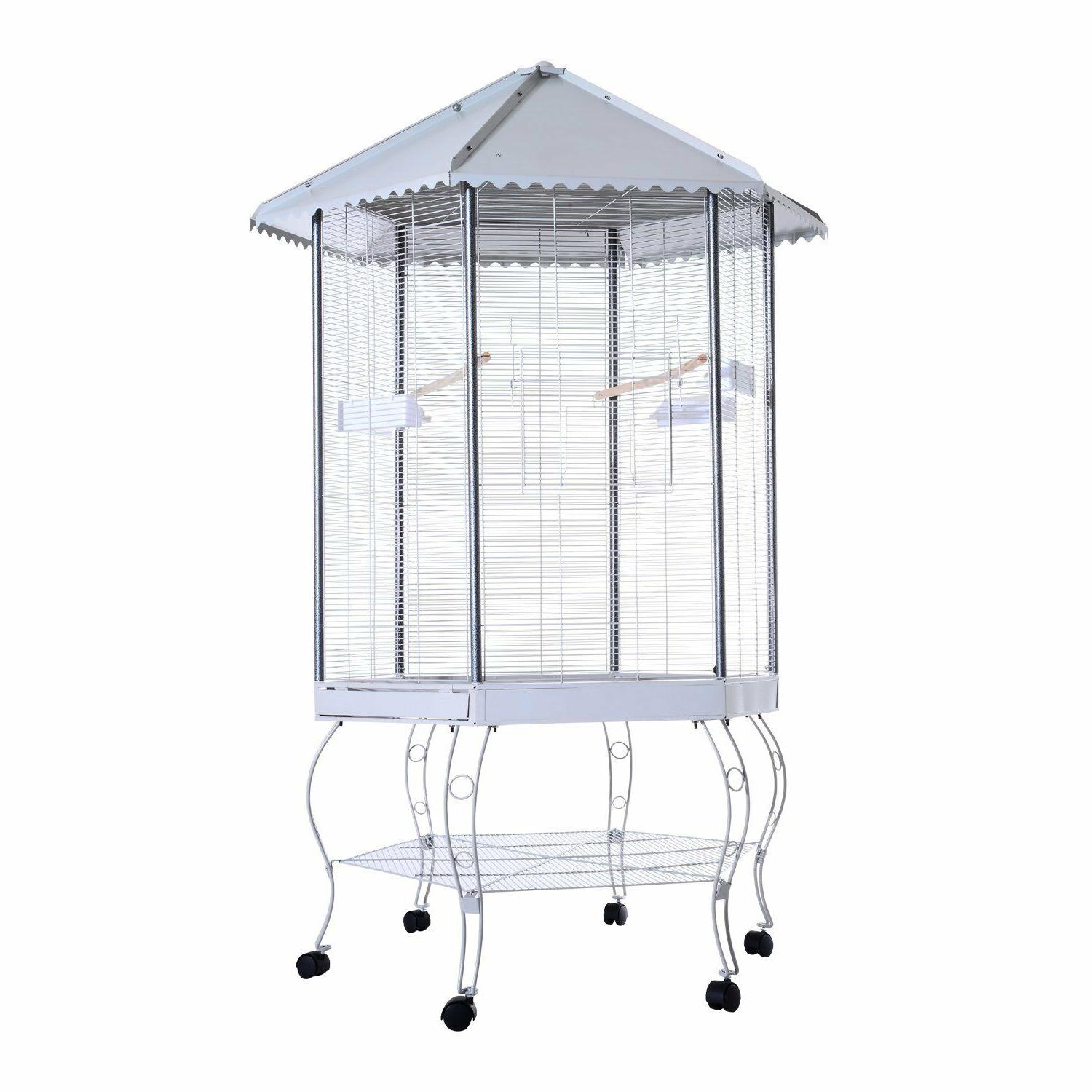 large Parrot outdoor indoor stand house