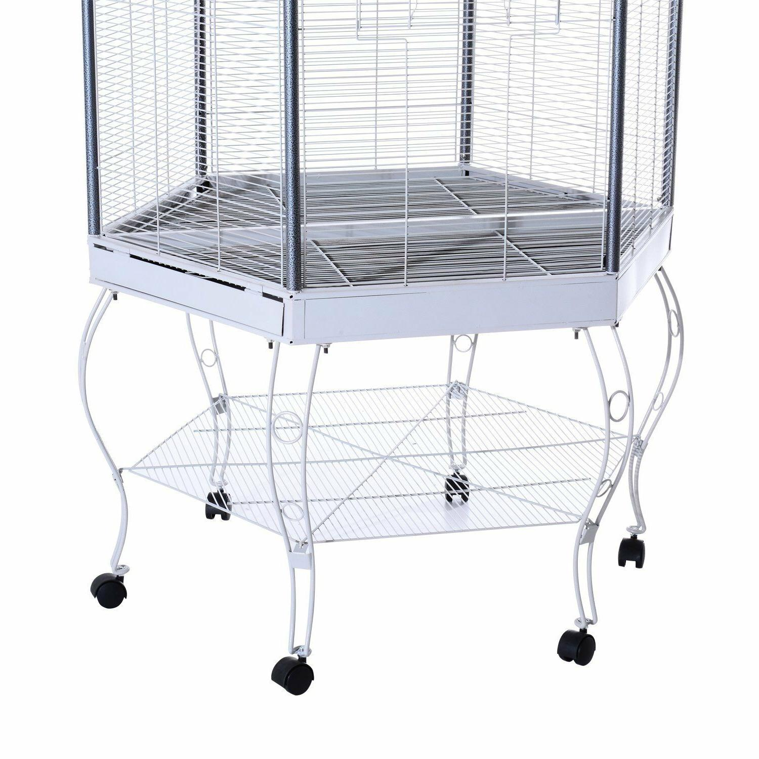 large bird cage Parrot outdoor stand house