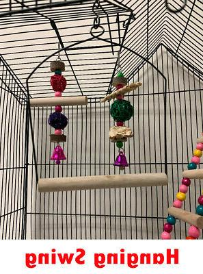 Large With Canary Parakeet LoveBird
