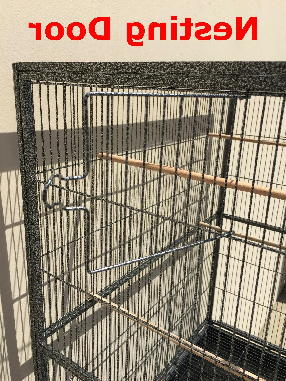 LARGE Bird Flight Breeder Cage With Divider