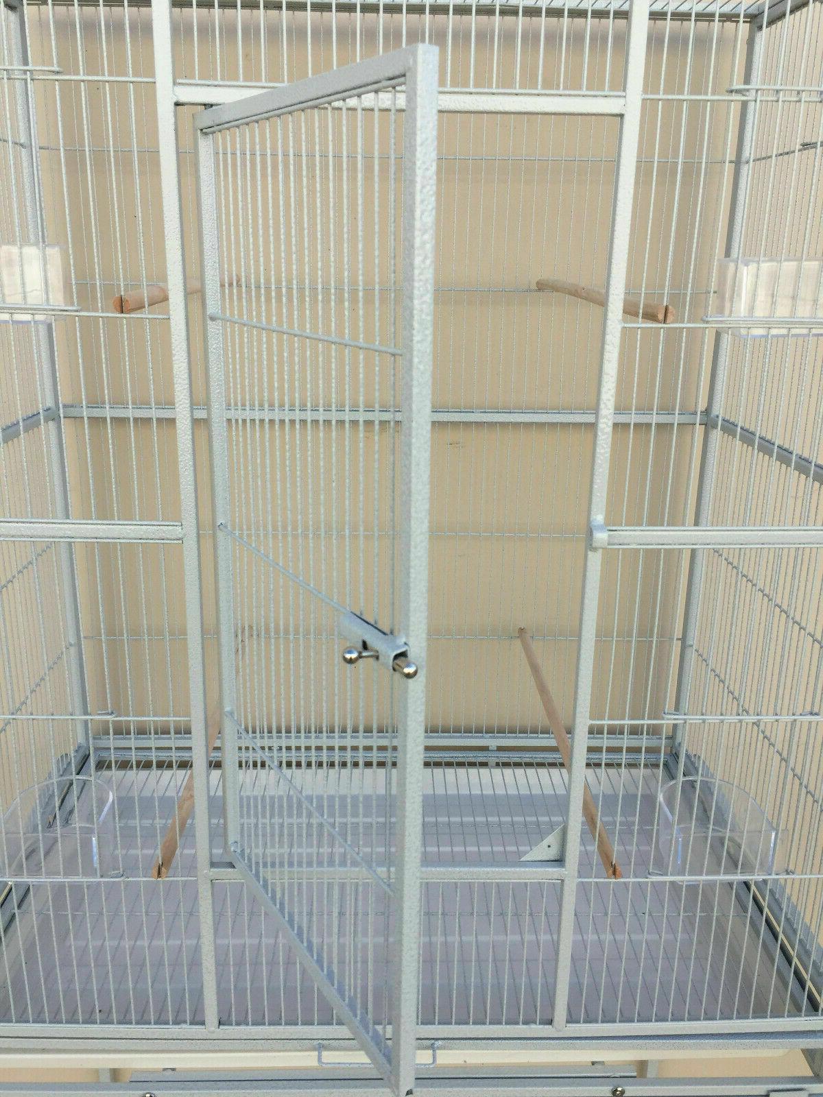 Cage Aviary Budgies