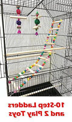 Large Bird Cage Canary Aviary Cockatiel