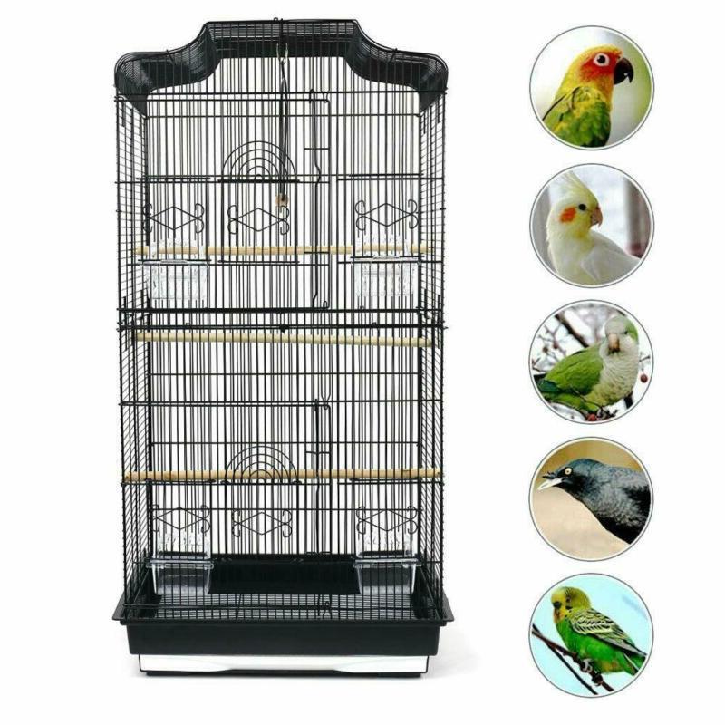 large metal bird cage budgie canary parakeet