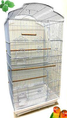 large portable dome top bird flight cage