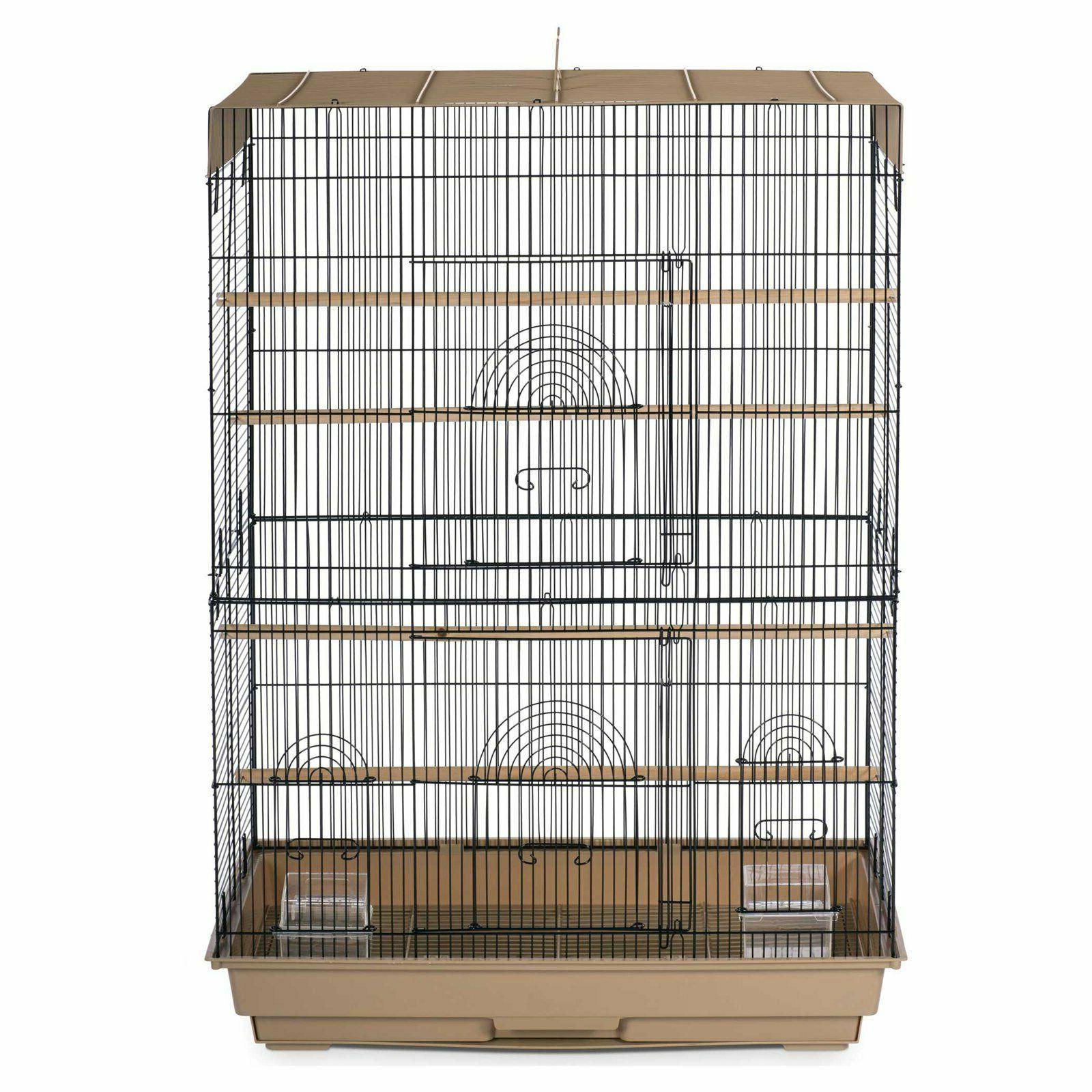 Large Portable Flight Cage Parrot Bird Lightweight Parakeets