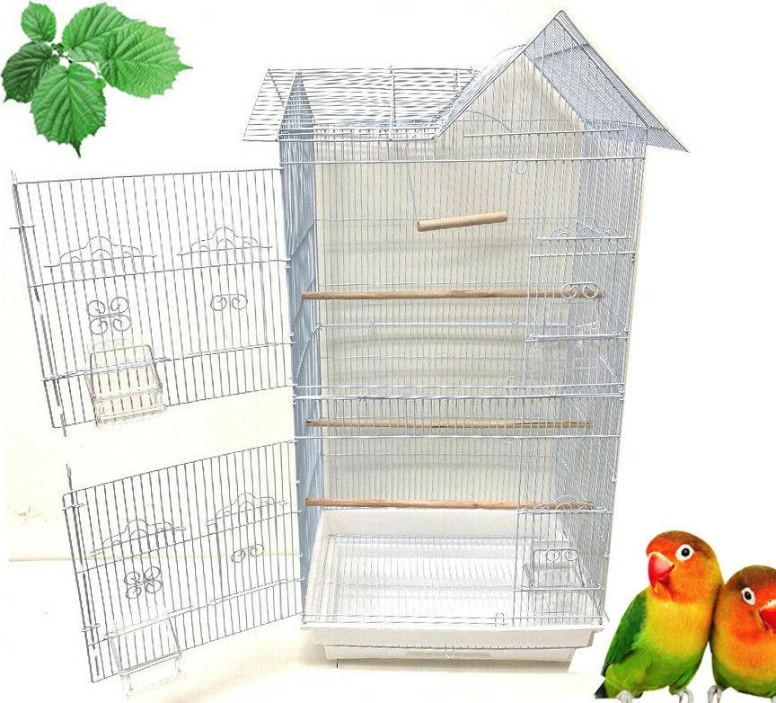 Large Roof Cage Budgie Cockatiel