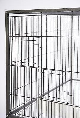 Bird Cage Overall on Wheeled Black