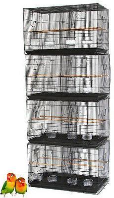 "Lot of 4 Large 30"" Breeding Breeder Canaries Budgies Bird Ca"
