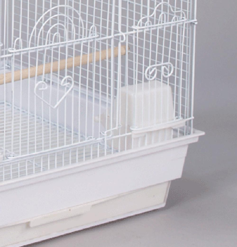 Lot bird cage feed seed feeder