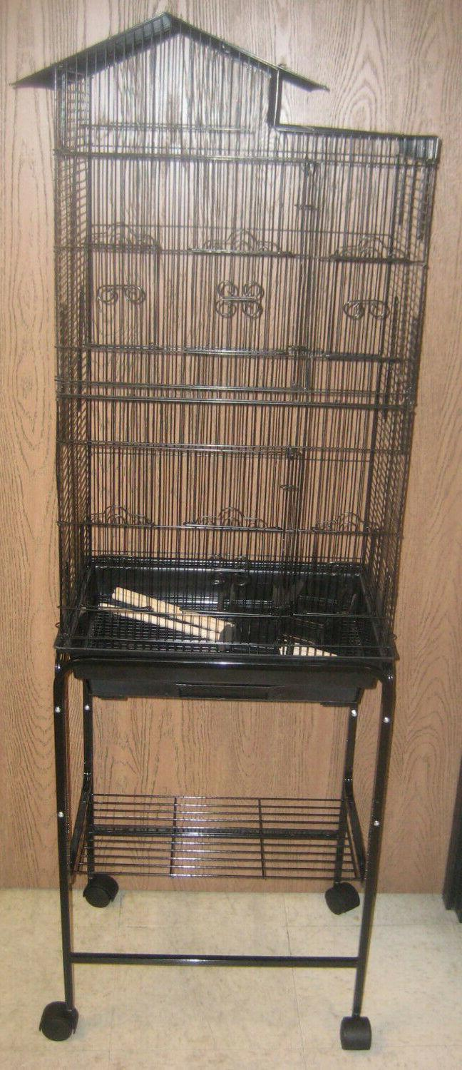 lot of four 62 large bird cage