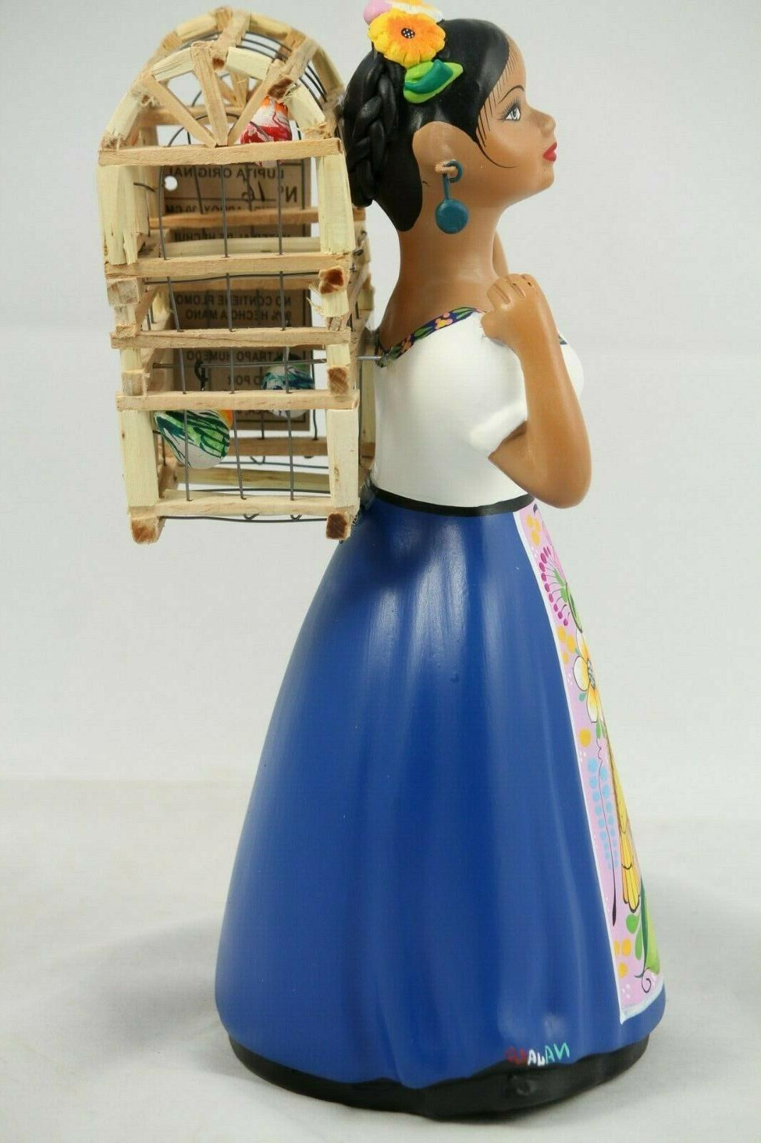 Lupita Cage Royal Blue Dress Ceramic Home
