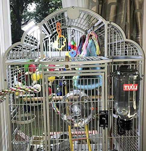 M&M Cage Company EZ PetLight with ChewGuard, LED, Spectrum Parrots Bird