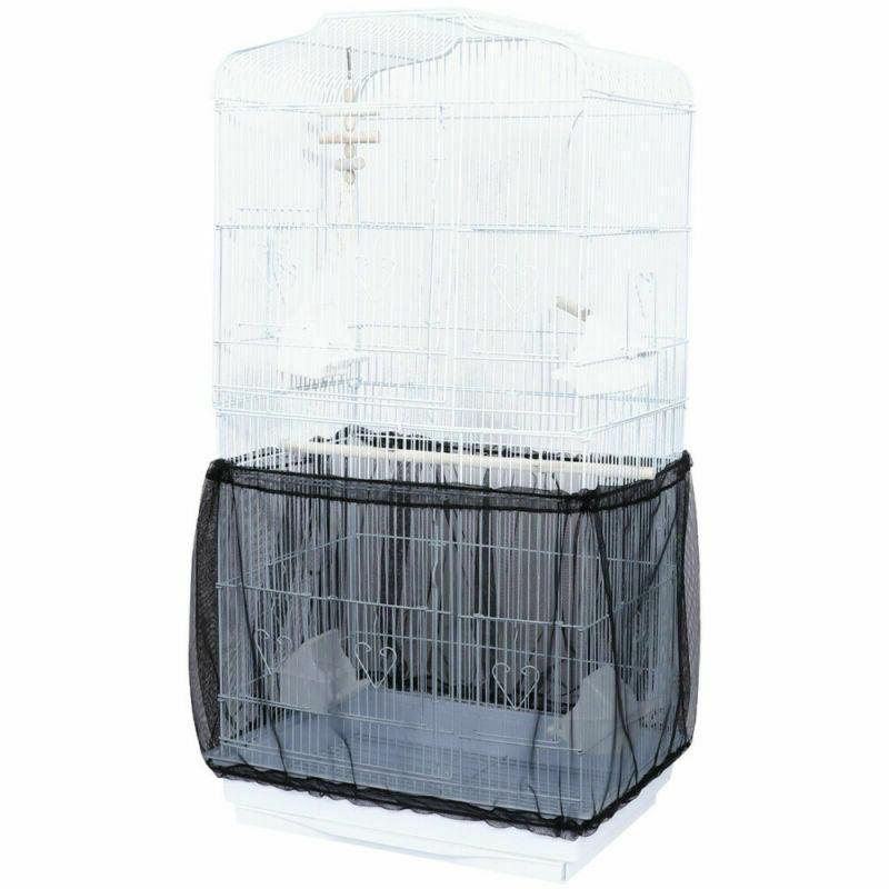Mesh Bird Cage Seed Tidy Basket MP
