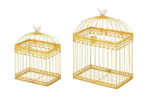 metal acrylic bird cage