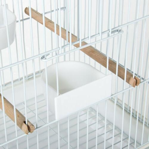 Metal Rolling Parrot Cage
