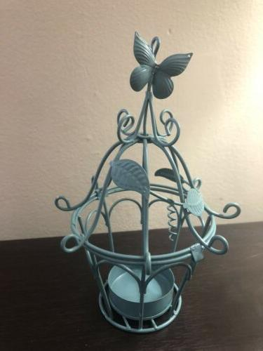 Metal bird cage set of In Box.