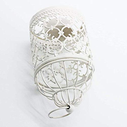 Ciaoed Small Metal Hanging Lantern, Decorative of & Pack 2