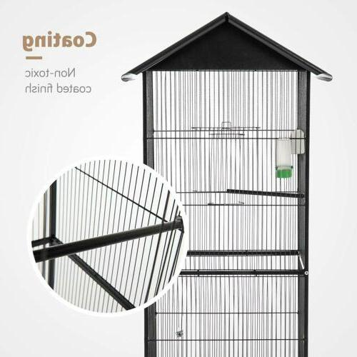62'' Bird Cage Parrot Conure Chinchilla House