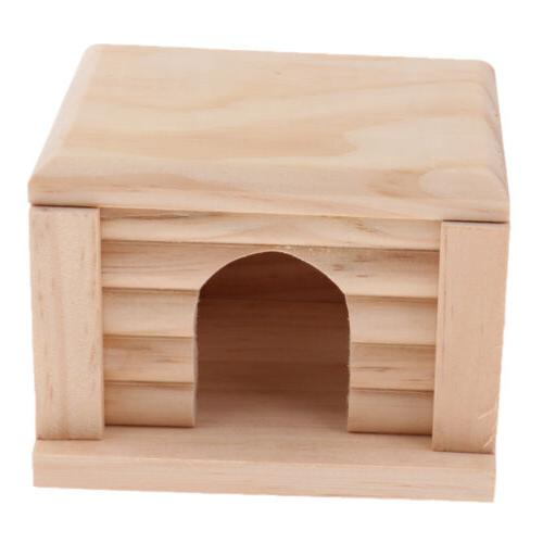 Natural Wooden for Small Animals Gerbils