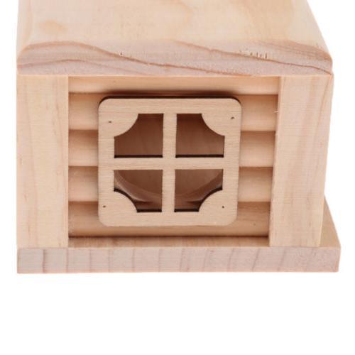 Natural Hut for Gerbils Accessories