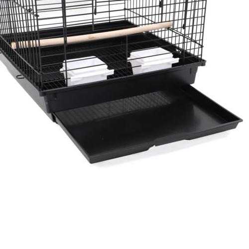 New Cage Pet Supplies Cages with Top Black