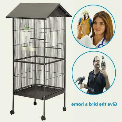 New Large Parrot Bird Play Pet Doors