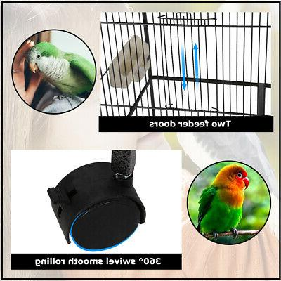 New Parrot Bird Cage Doors BC43