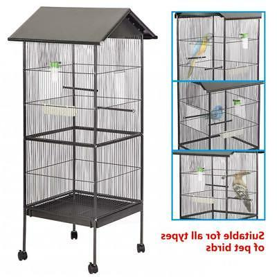 "New 61"" Bird Cage Play Pet Supplies,Perch Doors BC43"