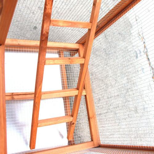 Bird Large Wood Aviary Grid Flight Cages for Bird House