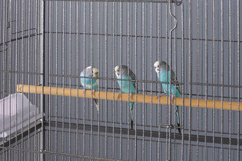 Prevue Pet Iron Flight Black Bird Cage 31 x20 x 53