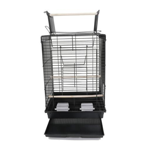 "23""37"" 39"" 57"" Pet Bird Hanging Parrot Aviary Canary Portable"