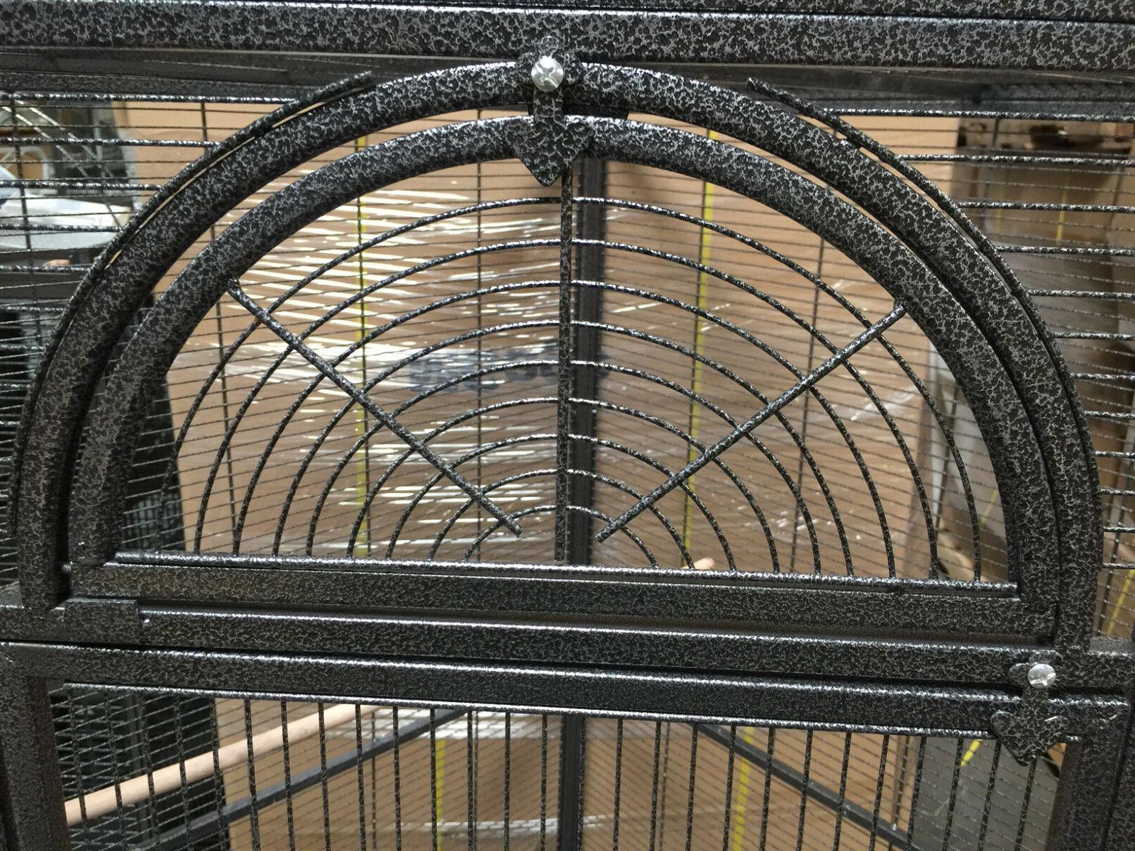 X-Large Corner Bird Cage Cockatiel Parakeet Parrot Seed Skirts