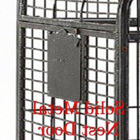 Mcage Iron Double Ladders Open/Close Play Top, Include and Play Top