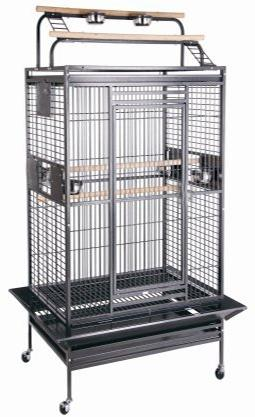 new large wrought iron bird parrot cage