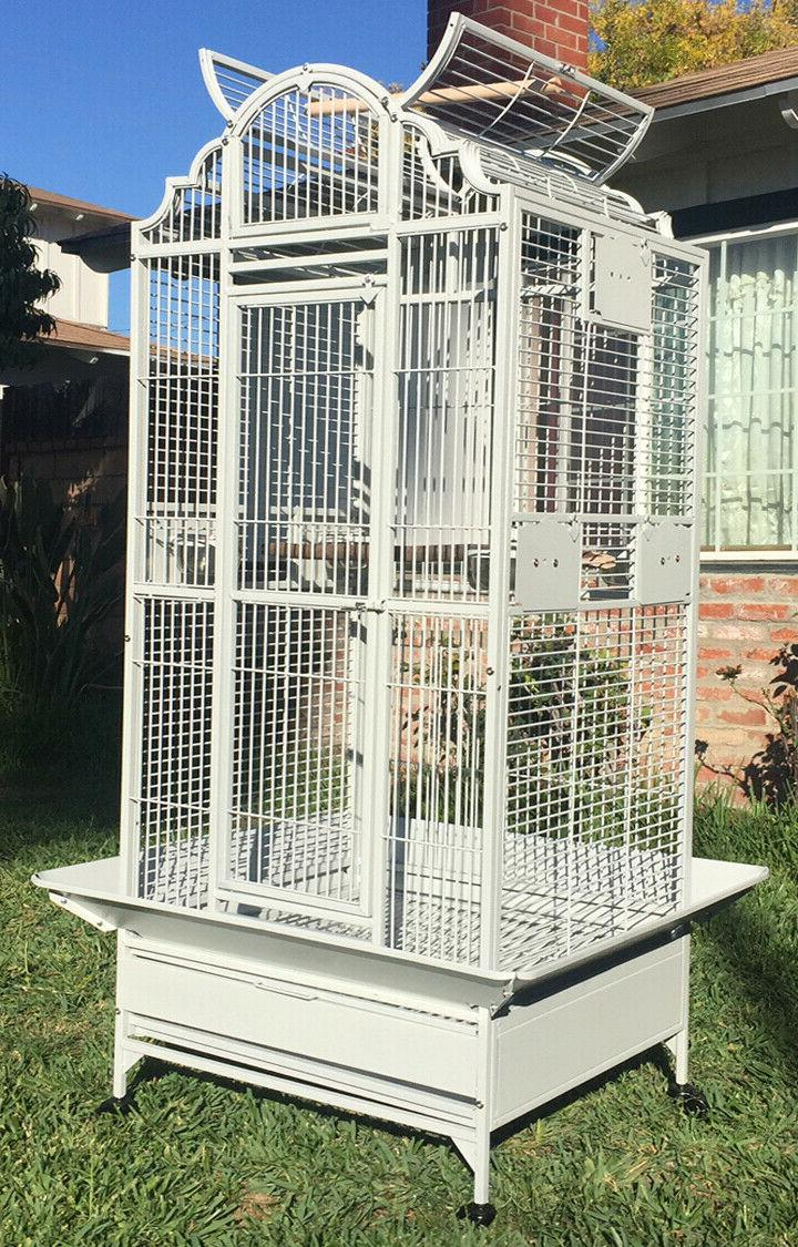 new large wrought iron open dome play