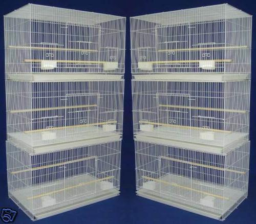 new lot of 6 aviary breeding breeder