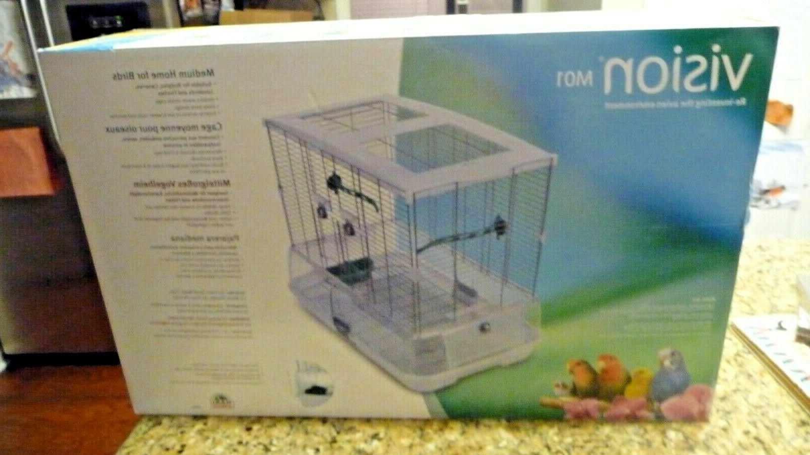 new m01 medium size bird cage budgies
