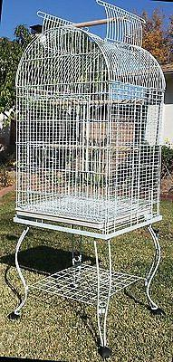 NEW Open Play Dome Top  Bird Parrot Cage Cockatiel Aviary Ca