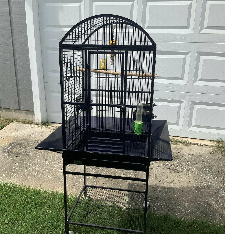 nina dometop bird cage dark blue local