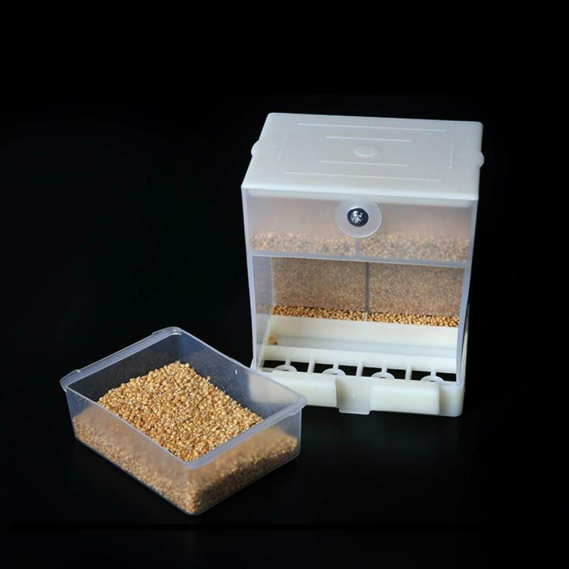 RYPET No-Mess Bird Feeder - Parrot Integrated Automatic Feed